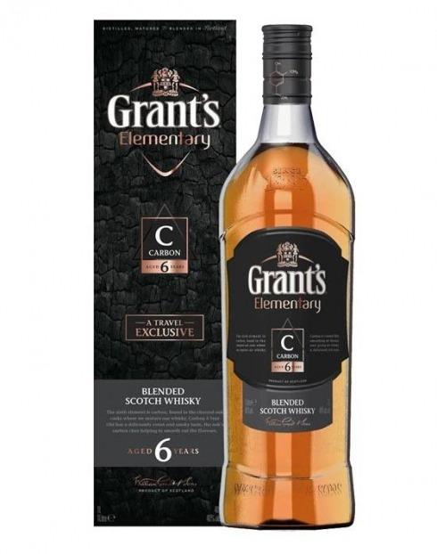 Garcias - Vinhos e Bebidas Espirituosas - WHISKY GRANT'S ELEMENTARY C CARBON 6A 1
