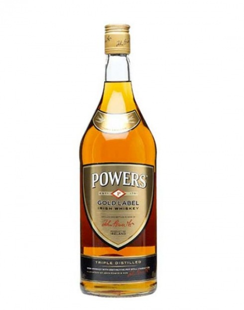 Garcias - Vinhos e Bebidas Espirituosas - WHISKY POWERS GOLD LABEL 1