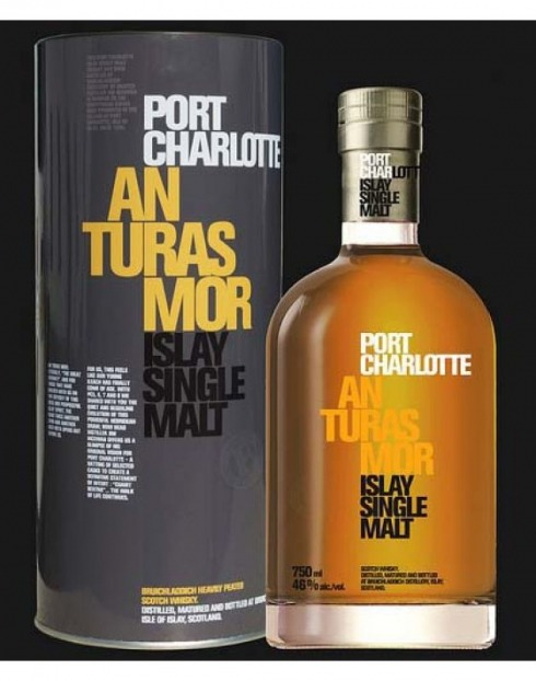 Garcias - Vinhos e Bebidas Espirituosas - WHISKY MALTE PORT CHARLOTTE AN TURAS MOR  1