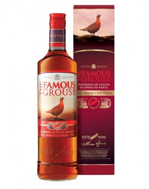 Garcias - Vinhos e Bebidas Espirituosas - WHISKY FAMOUSE GROUSE PORTWOOD C/ CAIXA 1