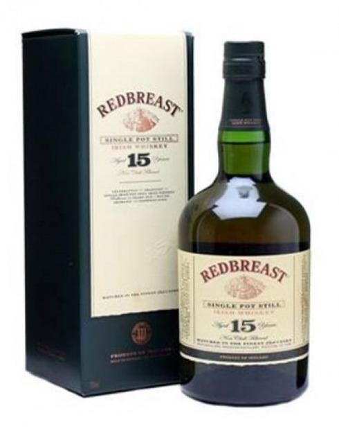 Garcias - Vinhos e Bebidas Espirituosas - WHISKY REDBREAST 15 A  1