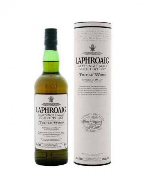 Garcias - Vinhos e Bebidas Espirituosas - WHISKY MALTE LAPHROAIG TRIPLE WOOD C/TUBO  1