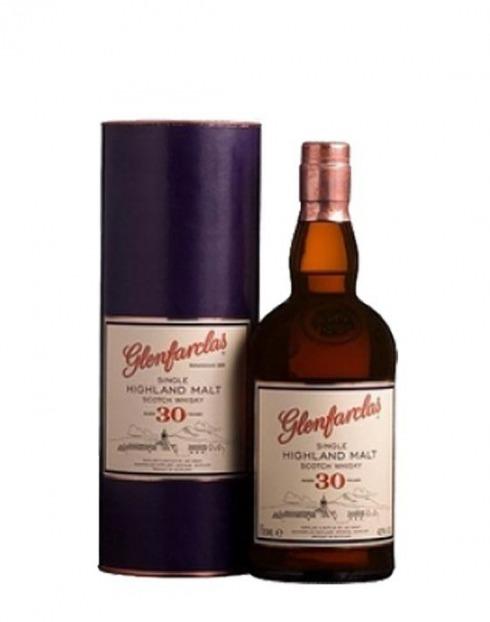 Garcias - Vinhos e Bebidas Espirituosas - WHISKY MALTE GLENFARCLAS 30A C/ ESTOJO 1