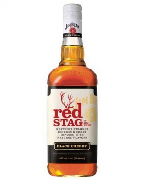 Garcias - Vinhos e Bebidas Espirituosas - WHISKY BOURBON JIM BEAM RED STAG  1
