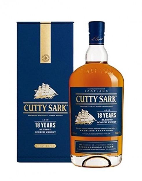 Garcias - Vinhos e Bebidas Espirituosas - WHISKY CUTTY SARK 18A C/ CAIXA 1