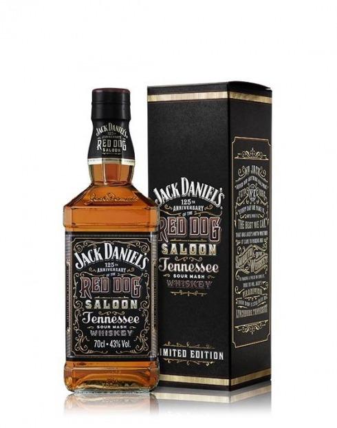 Garcias - Vinhos e Bebidas Espirituosas - WHISKY BOURBON JACK DANIELS RED SALOON 1