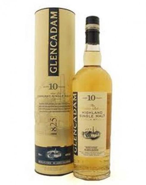 Garcias - Vinhos e Bebidas Espirituosas - WHISKY MALTE GLENCADAM 10 A C/LATA  1