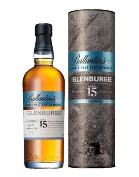 Garcias - Vinhos e Bebidas Espirituosas - WHISKY BALLANTINES 15A GLENBURGIE C/ CAIXA 1