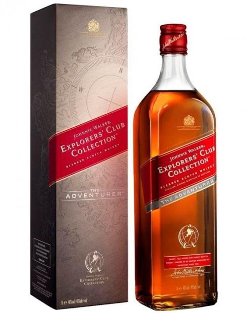 Garcias - Vinhos e Bebidas Espirituosas - WHISKY JOHNNIE WALKER CLUB ADVENTURER C/CX  1