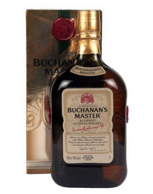 Garcias - Vinhos e Bebidas Espirituosas - WHISKY BUCHANNANS MASTER 1
