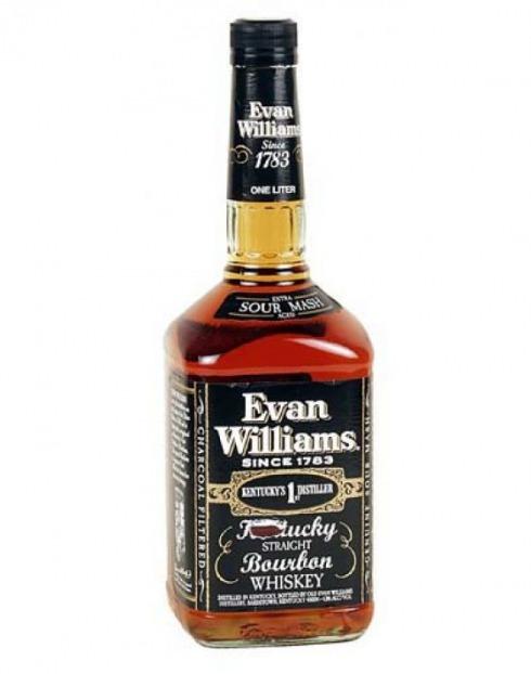 Garcias - Vinhos e Bebidas Espirituosas - WHISKY BOURBON EVAN WILLIAMS BLACK  1