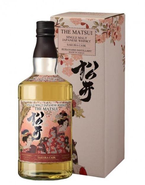 Garcias - Vinhos e Bebidas Espirituosas - SINGLE MALT THE MATSUI SAKURA CASK C/CX 1