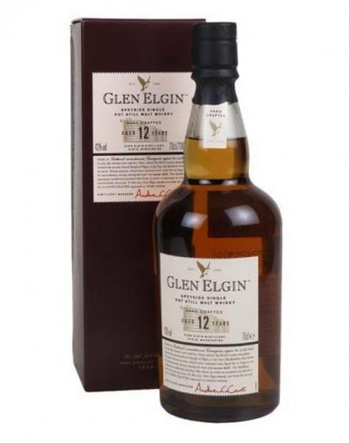 Garcias - Vinhos e Bebidas Espirituosas - WHISKY MALTE GLEN ELGIN 12 A  1