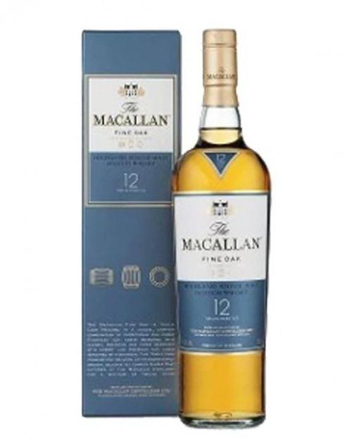 Garcias - Vinhos e Bebidas Espirituosas - WHISKY MALTE MACALLAN FINE OAK 12A C/ CAIXA 1