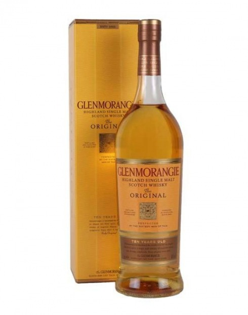 Garcias - Vinhos e Bebidas Espirituosas - WHISKY MALTE GLENMORANGIE ORIGINAL 10A 1L 1