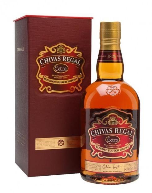 Garcias - Vinhos e Bebidas Espirituosas - WHISKY CHIVAS REGAL EXTRA 1