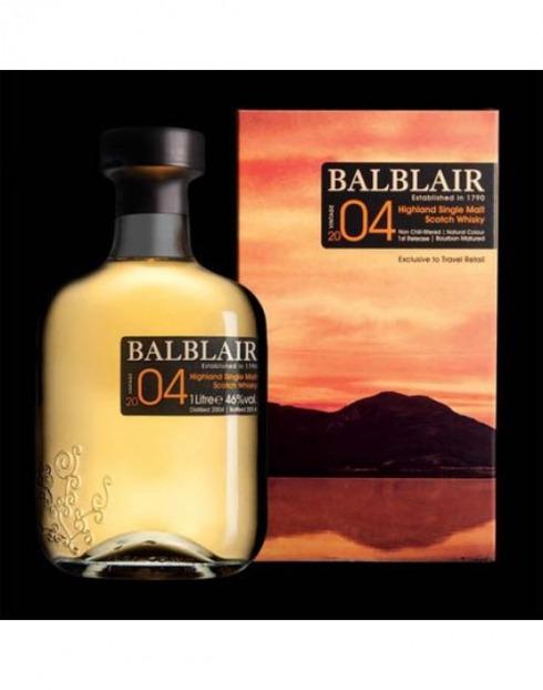 Garcias - Vinhos e Bebidas Espirituosas - WHISKY MALTE BALBLAIR VINTAGE 2004 C/CX  1