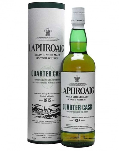 Garcias - Vinhos e Bebidas Espirituosas - WHISKY MALTE LAPHROAIG QUARTER CASK  1