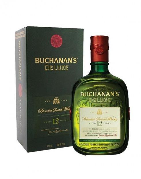 Garcias - Vinhos e Bebidas Espirituosas - WHISKY BUCHANNANS DE LUXE 12 A C/R 1L 1