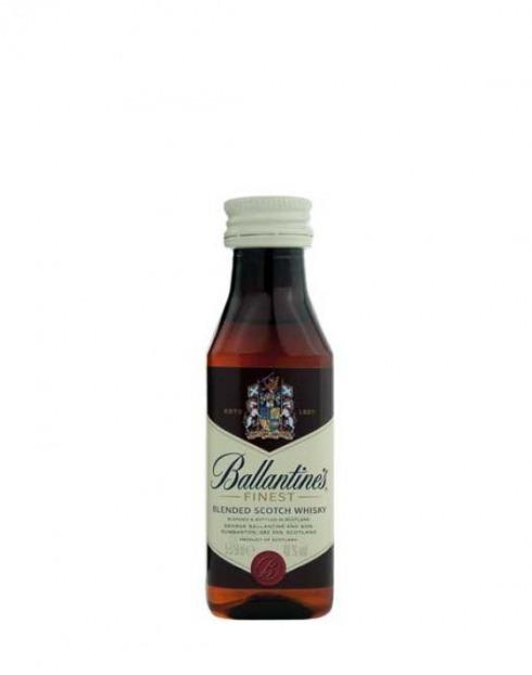 Garcias - Vinhos e Bebidas Espirituosas - WHISKY BALLANTINES MINIATURA 1