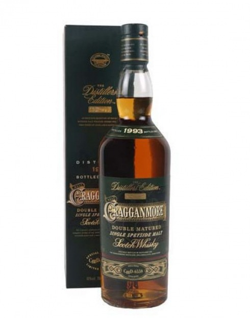 Garcias - Vinhos e Bebidas Espirituosas - WHISKY MALTE CRAGGANMORE DOUB.MATURED 93 1