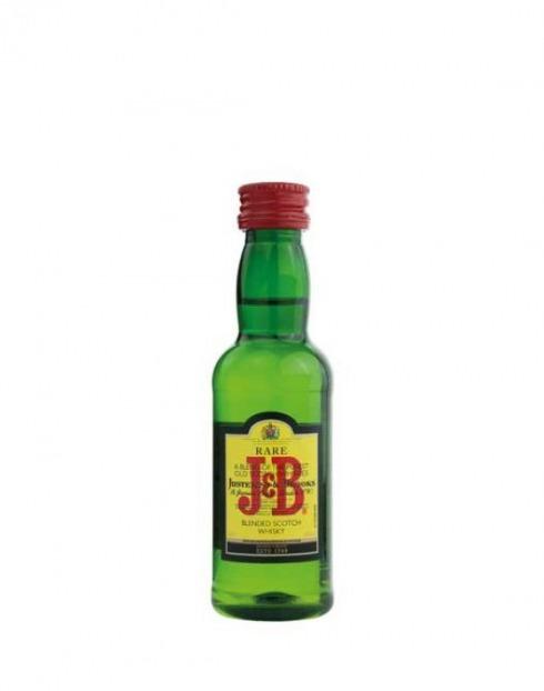 Garcias - Vinhos e Bebidas Espirituosas - WHISKY J & B MINIATURAS PET 1