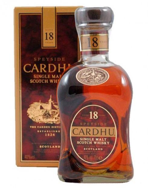 Garcias - Vinhos e Bebidas Espirituosas - WHISKY MALTE CARDHU 18A C/CX  1