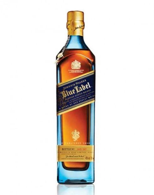 Garcias - Vinhos e Bebidas Espirituosas - WHISKY JOHNNIE WALKER BLUE 1L 1