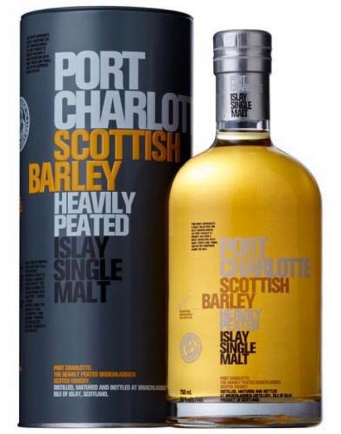 Garcias - Vinhos e Bebidas Espirituosas - WHISKY MALTE PORT CHARLOTTE SCOTISH BARLEY  1