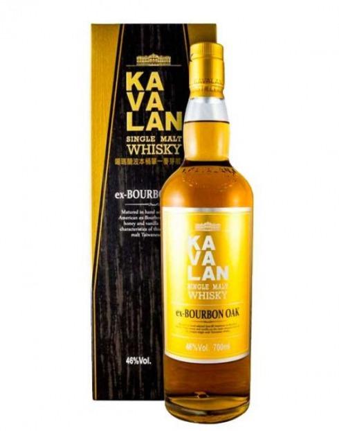 Garcias - Vinhos e Bebidas Espirituosas - WHISKY MALTE KAVALAN EX-BORBON OAK C/ CAIXA 1