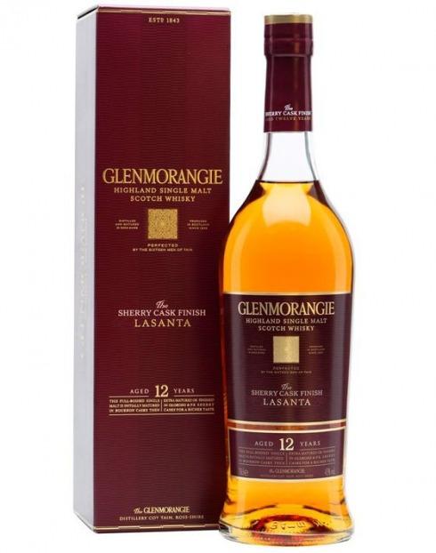 Garcias - Vinhos e Bebidas Espirituosas - WHISKY MALTE GLENMORANGIE LASANTA SHERRYCASK 12 A 1