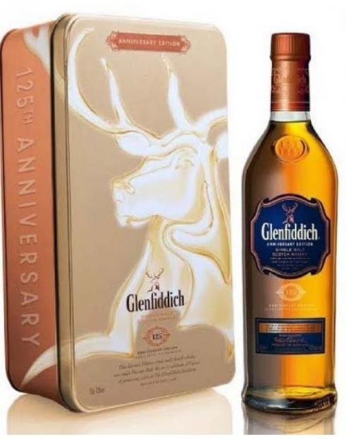 Garcias - Vinhos e Bebidas Espirituosas - WHISKY MALTE GLENFIDDICH 125TH ANNIVERSARY  1