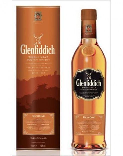 Garcias - Vinhos e Bebidas Espirituosas - WHISKY MALTE GLENFIDDICH 14 A RICH OAK  1