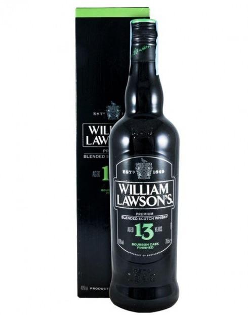 Garcias - Vinhos e Bebidas Espirituosas - WHISKY WILLIAM LAWSONS 13A C/ CAIXA 1
