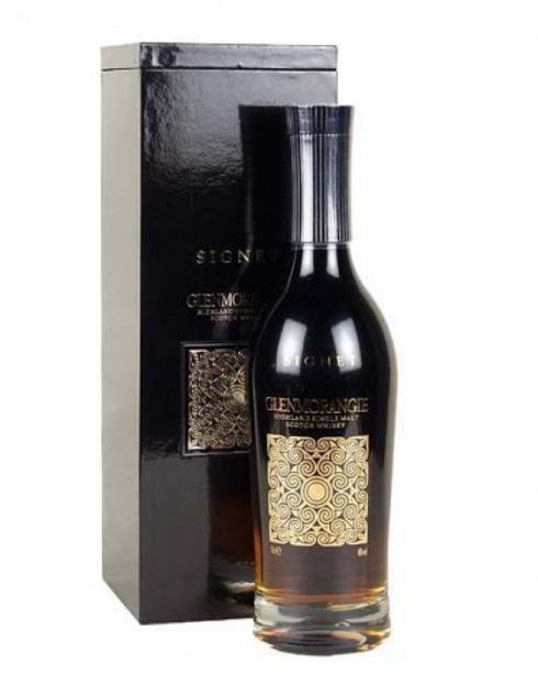 Garcias - Vinhos e Bebidas Espirituosas - WHISKY MALTE GLENMORANGIE SIGNET  1