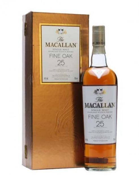 Garcias - Vinhos e Bebidas Espirituosas - WHISKY MALTE MACALLAN FINE OAK 25A C/CX  1