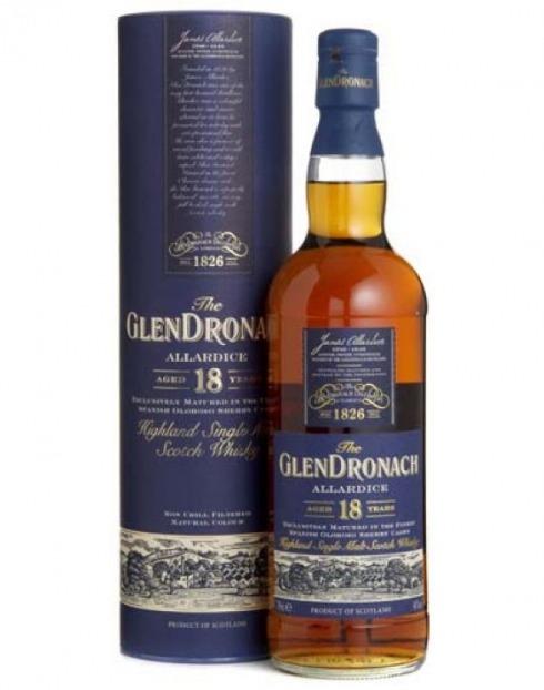 Garcias - Vinhos e Bebidas Espirituosas - WHISKY MALTE GLENDRONACH 18A ALLARDICE C/CX  1