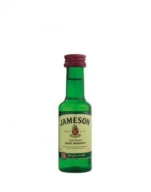 Garcias - Vinhos e Bebidas Espirituosas - WHISKY JAMESON PET MINIATURA 1