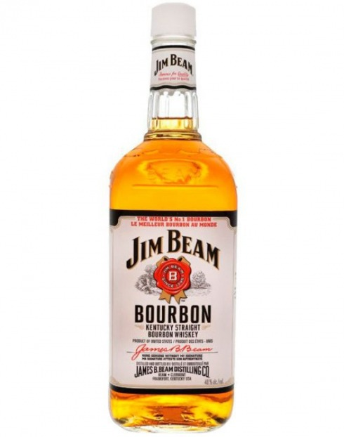 Garcias - Vinhos e Bebidas Espirituosas - WHISKY BOURBON JIM BEAM  1
