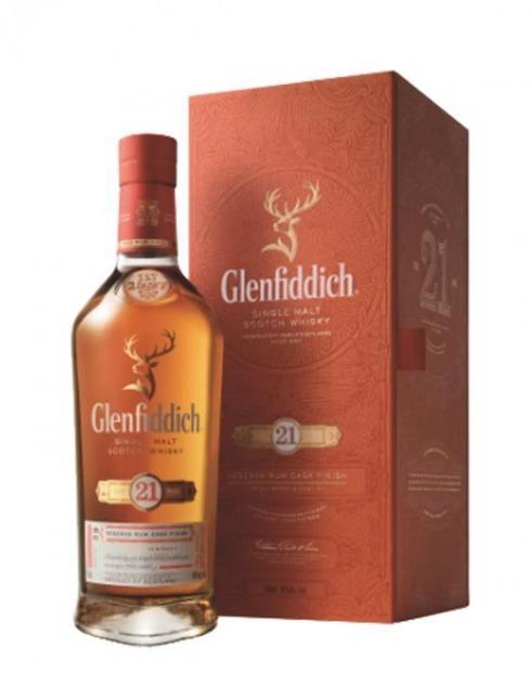 Garcias - Vinhos e Bebidas Espirituosas - WHISKY MALTE GLENFIDDICH 21A C/ ESTOJO 1
