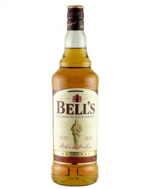 Garcias - Vinhos e Bebidas Espirituosas - WHISKY BELLS 1L 1