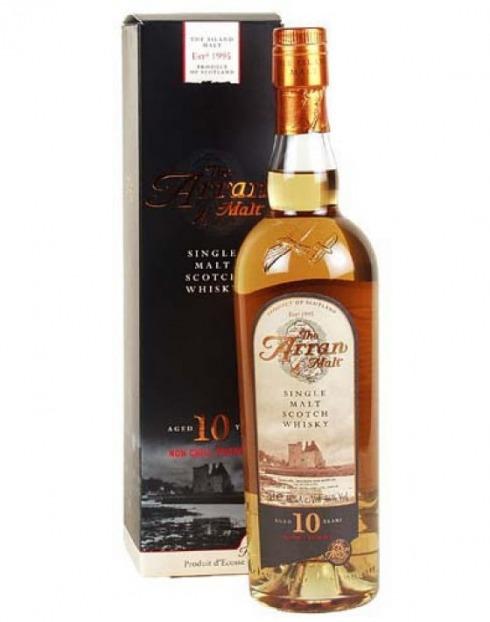 Garcias - Vinhos e Bebidas Espirituosas - WHISKY MALTE ARRAN 10A UNCHILLFILTEREB  1