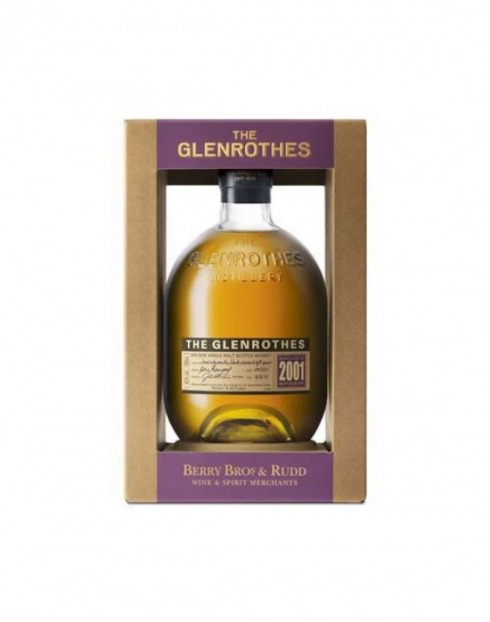 Garcias - Vinhos e Bebidas Espirituosas - WHISKY MALTE GLENROTHES VINTAGE 2001 C/CX  1