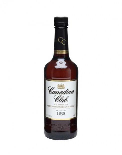 Garcias - Vinhos e Bebidas Espirituosas - WHISKY CANADIAN CLUB 1