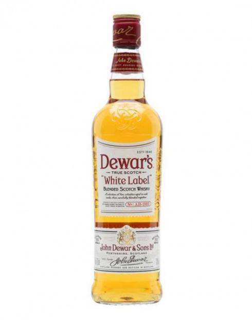 Garcias - Vinhos e Bebidas Espirituosas - WHISKY DEWAR'S WHITE LABEL 1