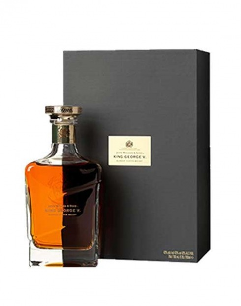 Garcias - Vinhos e Bebidas Espirituosas - WHISKY JOHNNIE WALKER BLUE KING GEORGE V C/ ESTOJO 1