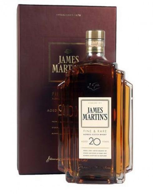 Garcias - Vinhos e Bebidas Espirituosas - WHISKY JAMES MARTIN´S 20 A  1