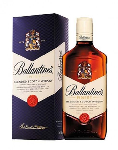 Garcias - Vinhos e Bebidas Espirituosas - WHISKY BALLANTINES C/ CAIXA 1