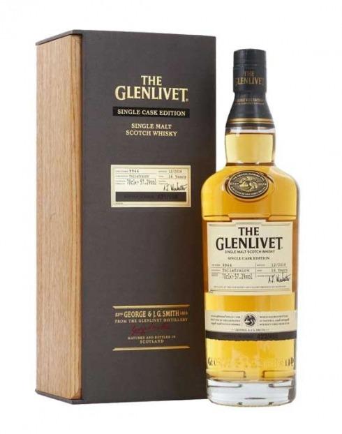 Garcias - Vinhos e Bebidas Espirituosas - WISHKY MALTE GLENLIVET TOLLAFRAICK 16 A  1