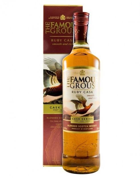 Garcias - Vinhos e Bebidas Espirituosas - WHISKY FAMOUSE GROUSE RUBY CASK C/ CAIXA 1
